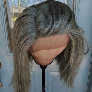 New [Custom Dyed] Green Lace Front Wig